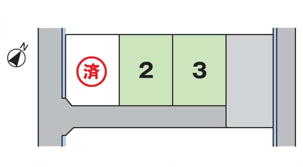 中丸第4分譲地(3区画)