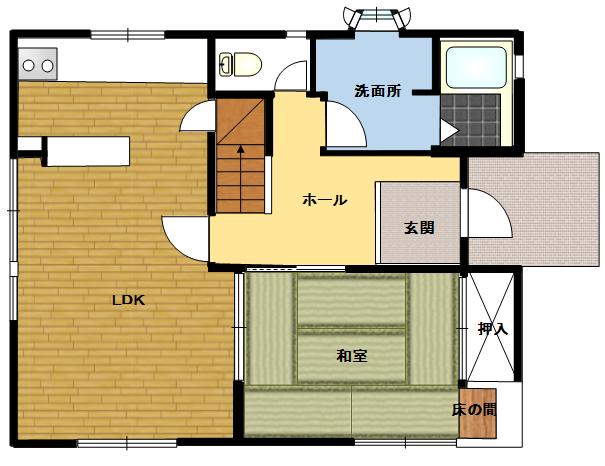御殿場市西田中 4LDK中古住宅