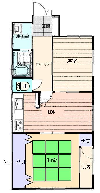 沼津市西沢田 2DK 中古住宅