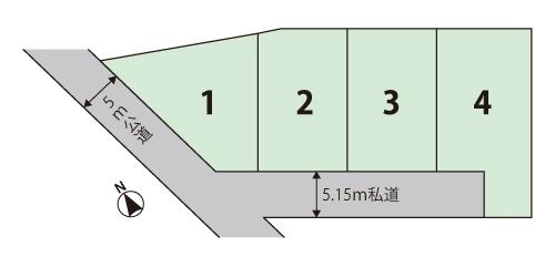 松岡分譲地(1号地)