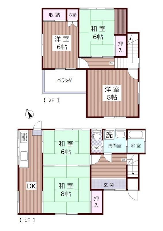富士宮市小泉中古住宅