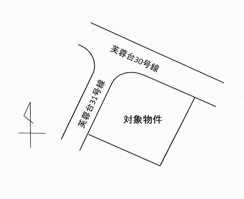三島市芙蓉台 1,100万円 売土地