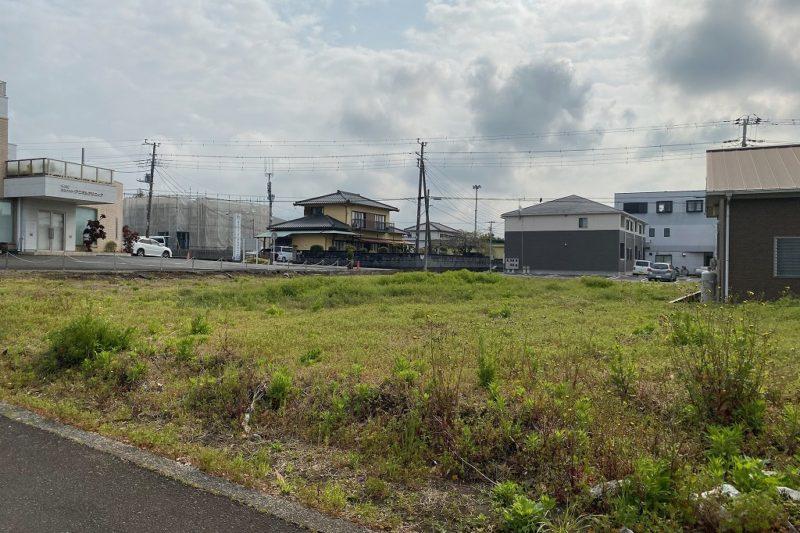 富士IC近く 幹線道路沿い マンション、店舗向き 富士市伝法 賃貸も応談可