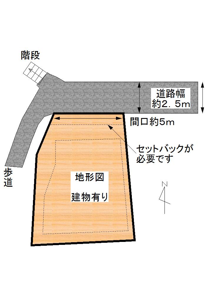 三島市文教町 1350万円 売土地