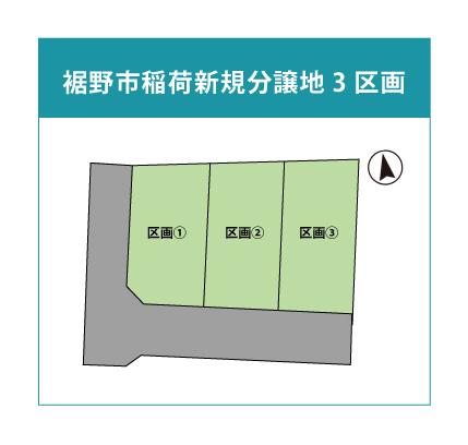【分譲地】裾野市稲荷3区画