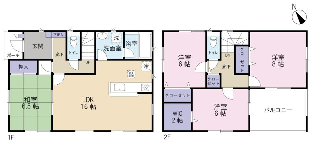 小泉新築建売第16-1号棟