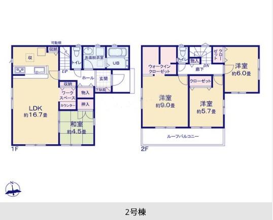 御殿場市かまど20-1期 新築分譲住宅【全5棟】2号棟