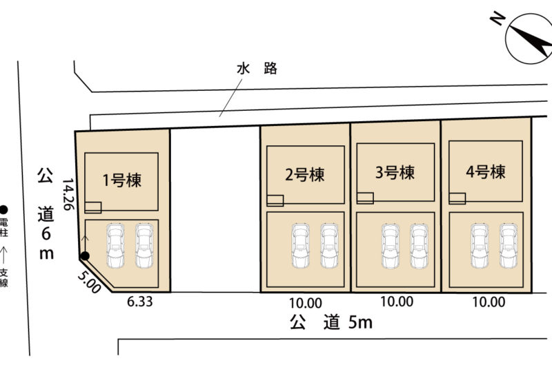 宮島新築建売第6-2号棟