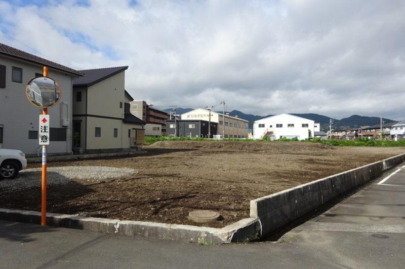 富士中央小学校校区の分譲地 全7区画