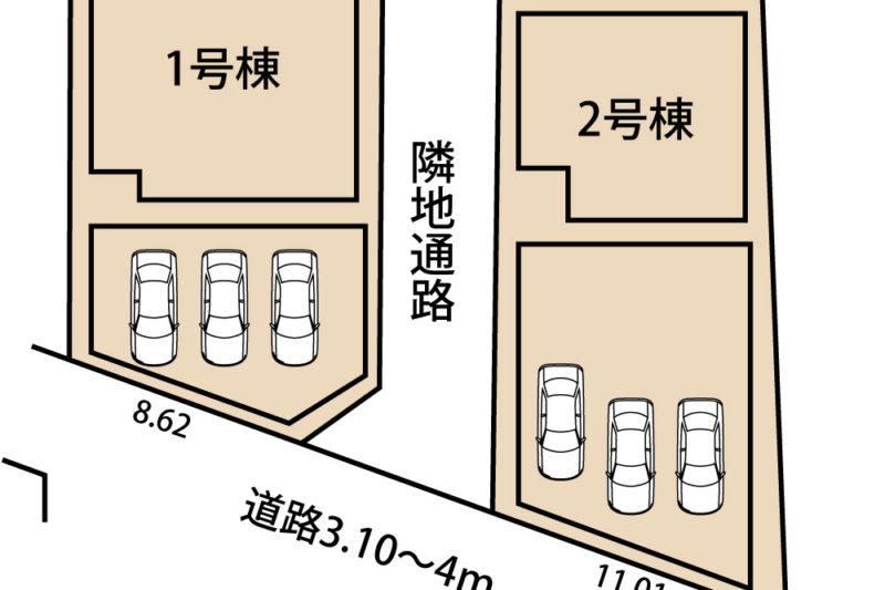 小諏訪新築建売第5-1号棟