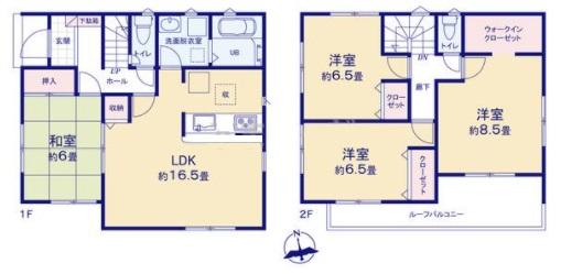 御殿場市新橋20-1期 新築分譲住宅【全3棟】 1号棟
