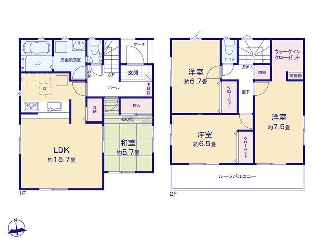 函南町間宮20-1期 新築分譲住宅【全5棟】 3号棟