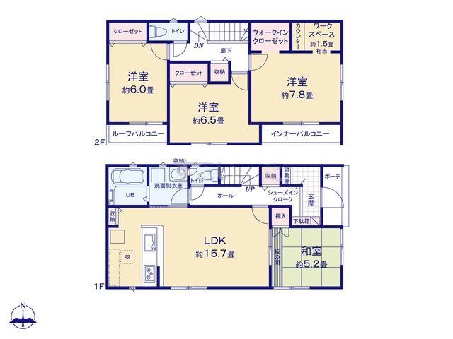函南町間宮20-1期 新築分譲住宅【全5棟】 5号棟