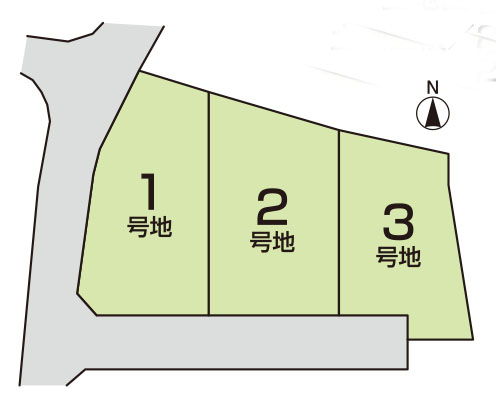 小泉 分譲地 3区画