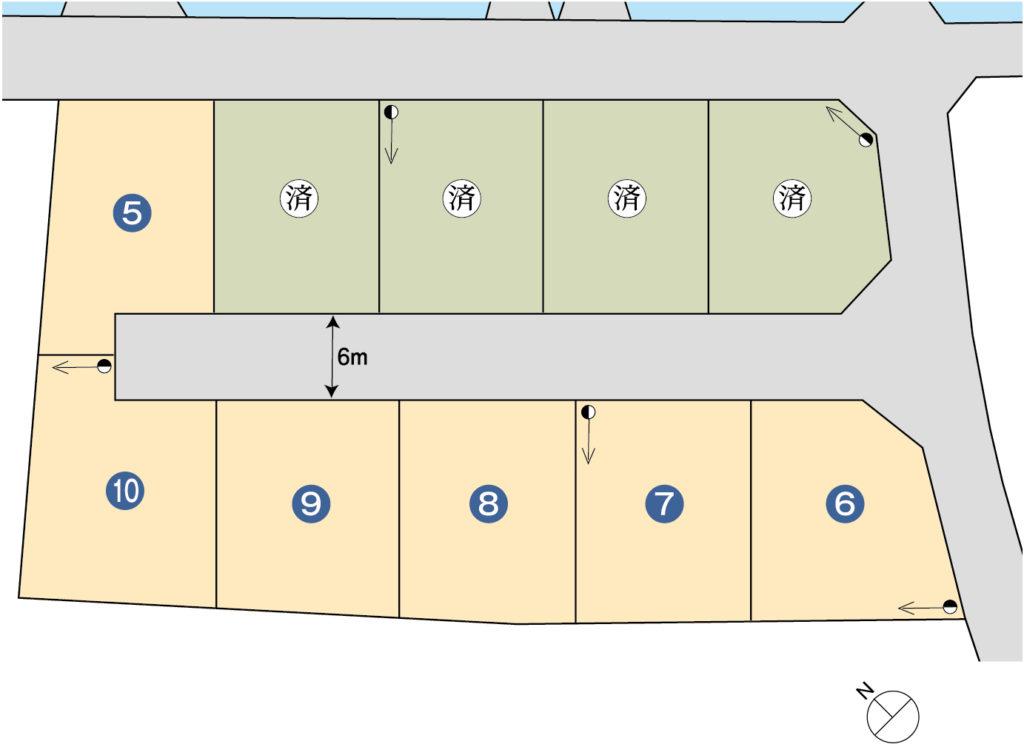 富士市森島分譲地10区画(ハウジングタウン森島)