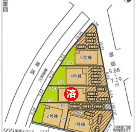 三島市徳倉第4 新築分譲住宅【全5棟】5号棟