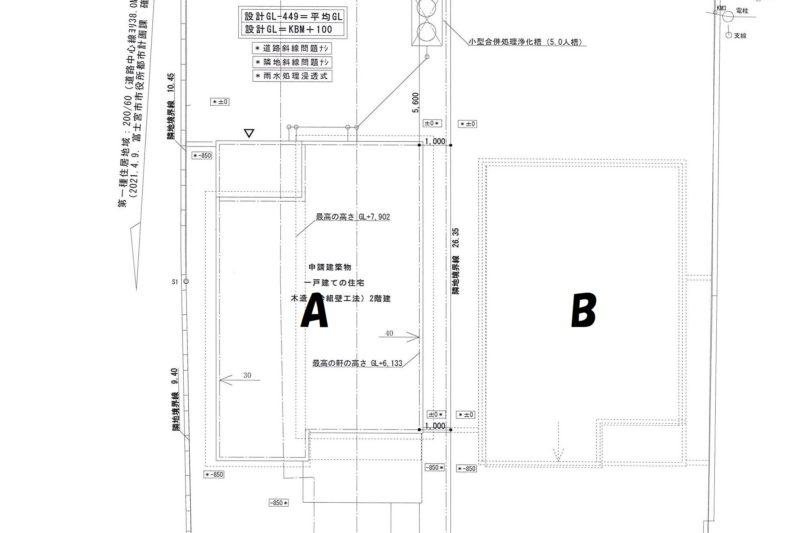 小泉・下宿Ⅱセット住宅 B棟