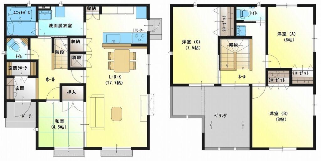 川成島・柳島セット住宅 D棟(未入居住宅)