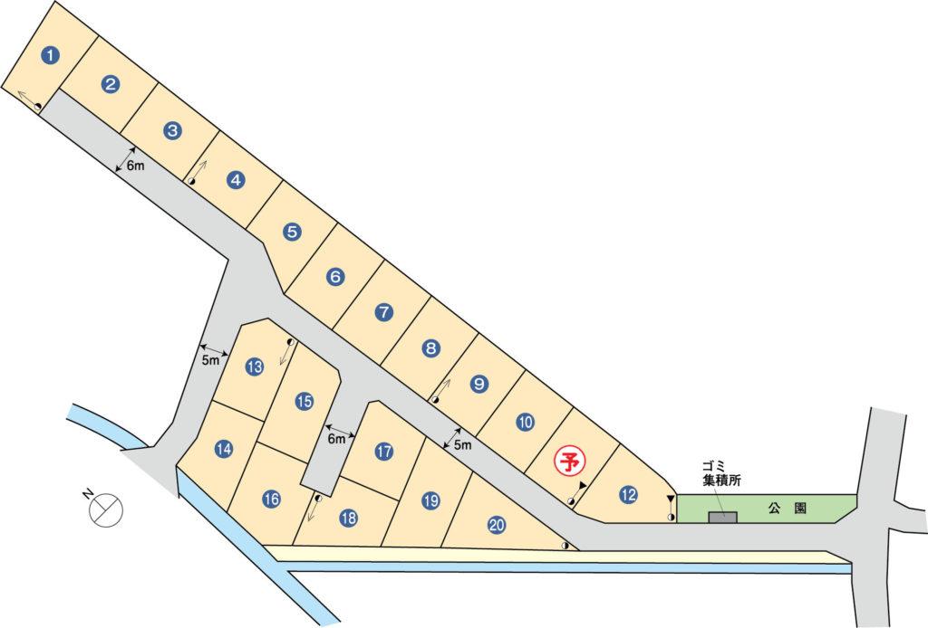 富士市宮島分譲地20区画(ハウジングタウン宮島)