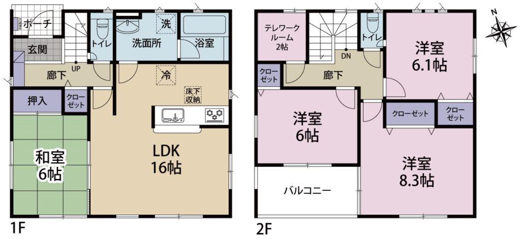 富士市中野新築建売第10-2号棟