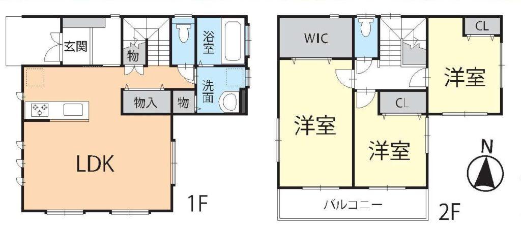 富士市川成島中古住宅