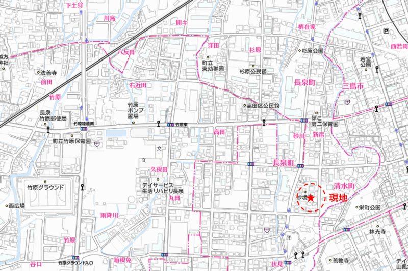 新宿3区画売り土地