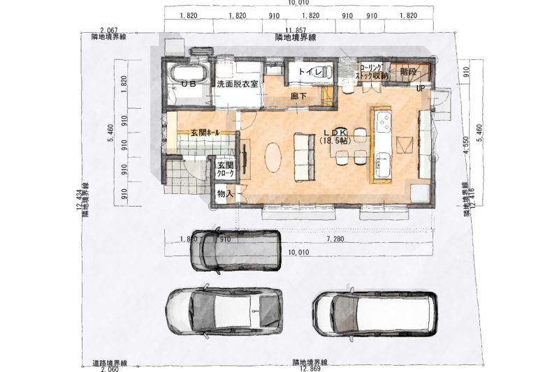 大岡二期№2モデルハウス