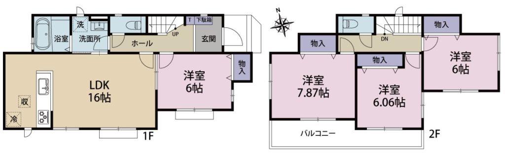 富士岡新築建売Ⅰ-2号棟